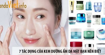 7 tác dụng của kem dưỡng ẩm da mặt bạn nên biết 4