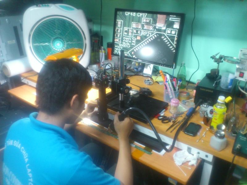 sửa chữa laptop uy tín tphcm