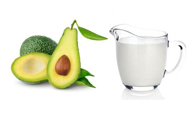 Những tinh chất từ bơ và sữa tươi sẽ mang lại làn da tươi sáng tự nhiên