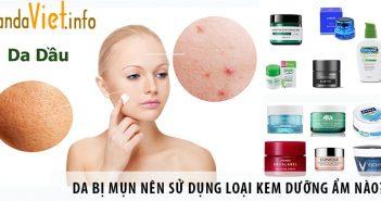 Người có da bị mụn nên sử dụng loại kem dưỡng ẩm nào?