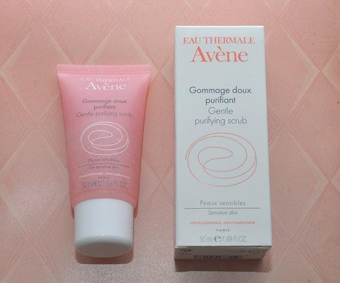 Kem tẩy tế bào chết Avène Gentle Purifying Scrub