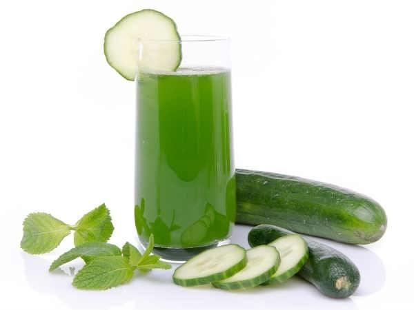 Ngoài việc dùng để uống nước ép dưa leo cũng trị thâm môi