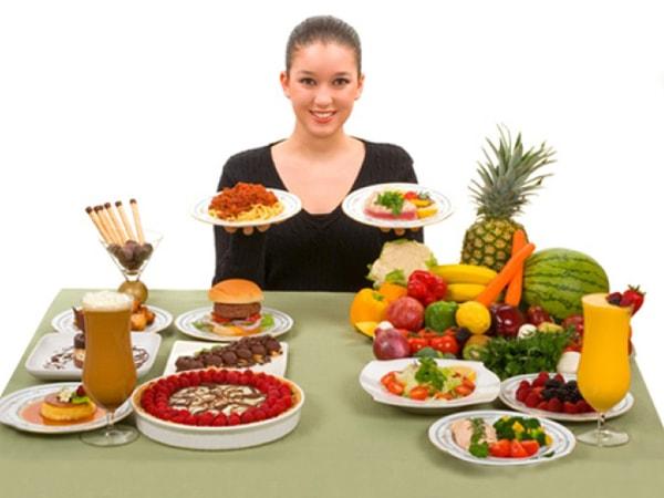 chế độ ăn cho người bị chàm 1