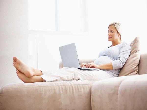 hội chứng ống cổ tay khi mang thai
