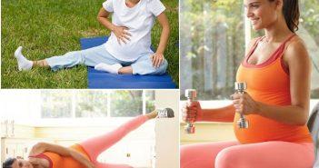 Những nguyên tắc mẹ bầu cần nhớ khi tập luyện thể thao