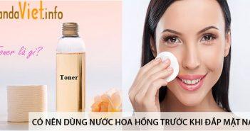 Có nên dùng nước hoa hồng trước khi đắp mặt nạ? 1