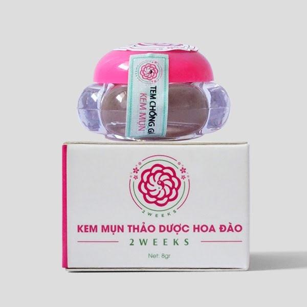 Kem Mụn Thảo Dược Hoa Đào – Sản phẩm Đông y bán chạy nhất trên thị trường