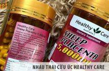 Nhau thai cừu Úc Healthy Care- liệu trình vàng cho sức khỏe
