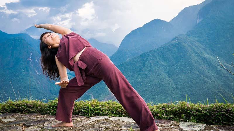 Hãy thử một lần trải nghiệm hòa mình vào thiên nhiên và tập Yoga